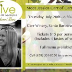 carr event flyer