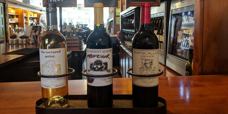 Meet the Winemaker of League of Rogues from Paso Robles. The event is Thursday March 28th from 6 to 8pm at WE Olive & Wine Bar La Jolla