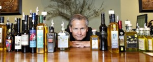 We Olive SLO Owner Ray Russell at the tasting bar