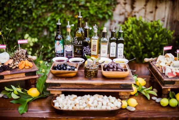 olive oil tasting bar