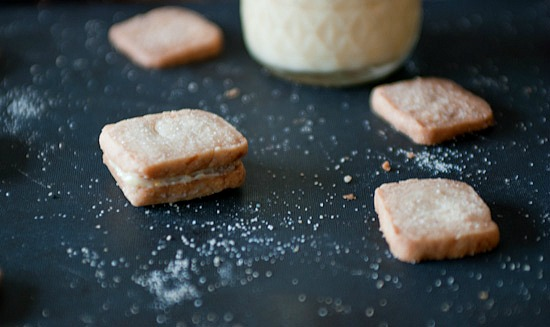 shortbread made with olive oil