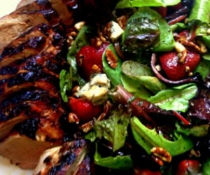 balsamic marinated pork tenderloin