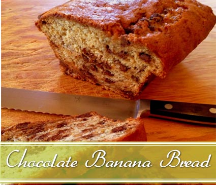 banana bread with olive oil
