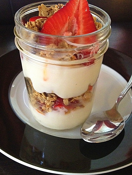 Fruit and Granola Parfaits