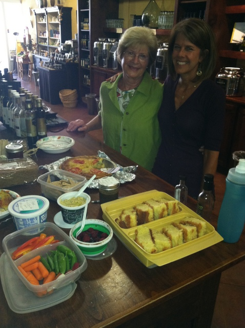 Chris & Janet of We Olive Ventura show off their Olive Oil Cake, Cilantro Lemon Hummus and Zucchini Pie Recipes!