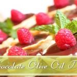 chocolate olive oil tart slide
