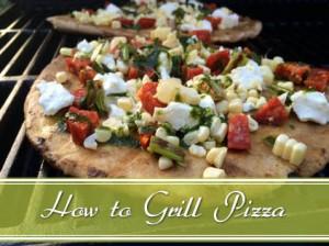 Grilled Pizza Slider