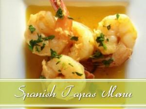 spanish tapas menu slider