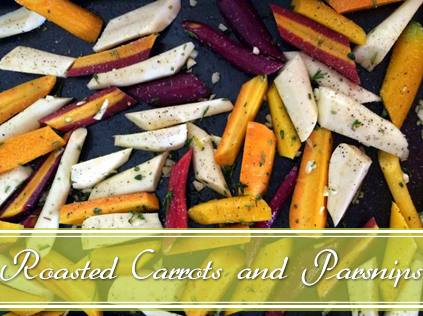 garlic and herb roasted vegetables