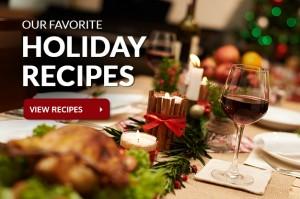 holiday recipes slider
