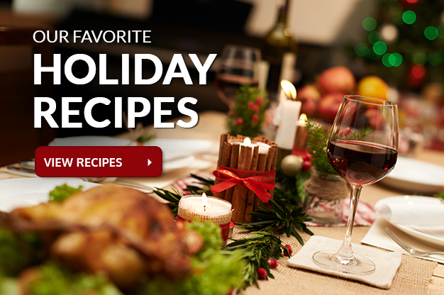 holiday recipes slider
