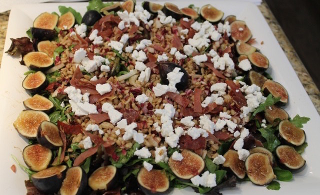Fall Fig Salad