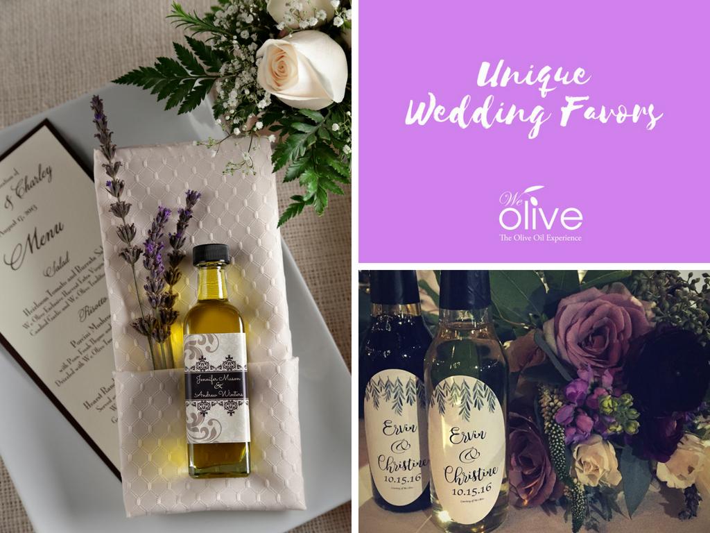 Unique Wedding Favors We Olive