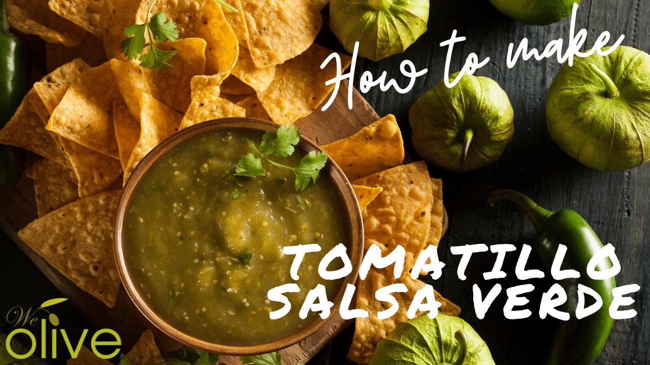 Tomatillo salsa verde