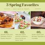 Spring Snack Ideas